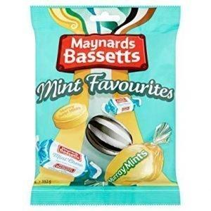 Maynards Bassetts Mint Favourites Bag 192g
