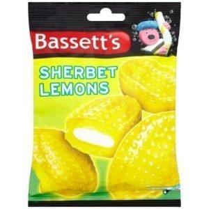 Maynards Bassetts Sherbet Lemons Sweets Bag 192g