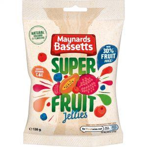 Maynards Bassetts Superfruit Jellies 130g
