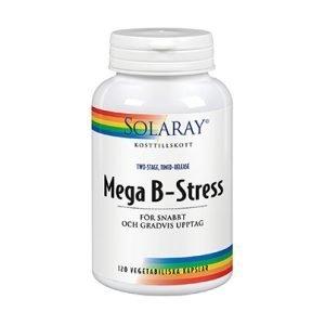 Mega-B stress 120 kapslar veg
