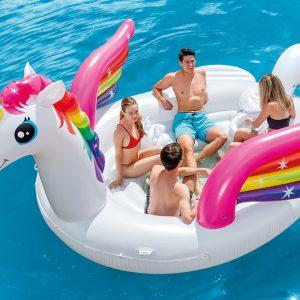 Megagigantisk Unicorn Pool Float
