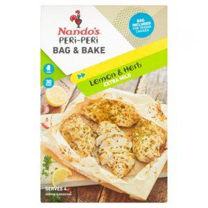 Nandos Peri Peri Bag & Bake Lemon & Herb 20g