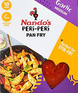 Nandos Peri-Peri Pan Fry - Garlic 80g