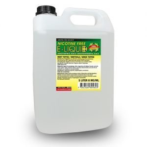 Nikotinfri E-juice Mintkola 5 liter