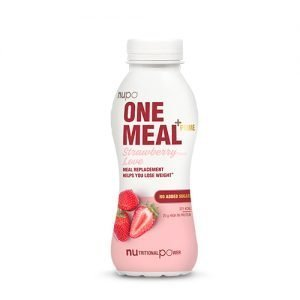 Nupo One Meal + Prime Shake Jordbær - 330 ml
