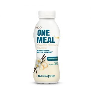 Nupo One Meal + Prime Shake Vanilje & Banan - 330 ml