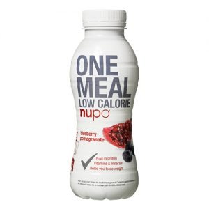 Nupo One Meal Shake Blåbär Granatäpple - 330 ml