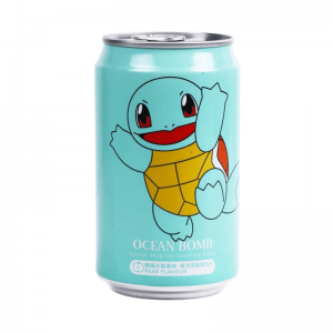 Ocean Bomb Pokemon Squirtle Pear Sparkling Water 330ml