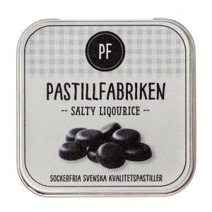 Pastillfabriken Salty Liqourice 30g