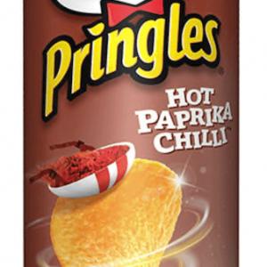 Pringles Hot Paprika Chilli 200g