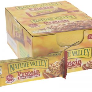 Proteinbars Jordnötter, Mandlar & Karamell 12-pack - 74% rabatt