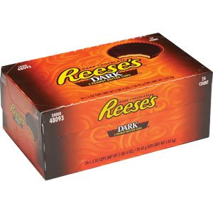 Reeses Dark Chocolate Peanut Butter Cups x 24st