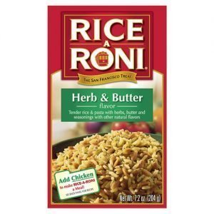 Rice A Roni Herb Butter 204g