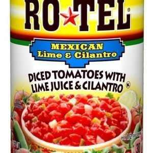 Ro-Tel Diced Tomatoes with Lime Juice & Cilantro 283g