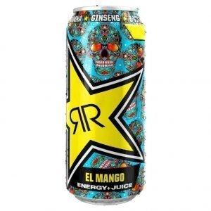 Rockstar Energy Baja Juiced Mango 500ml