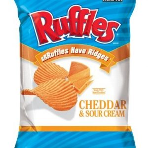 Ruffles Cheddar Cheese & Sour Cream Chips