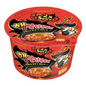 Samyang Hot Chicken Flavor Ramen Bowl 2xSpicy 105g