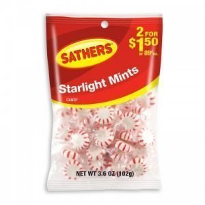 Sathers Starlight Mints 102g