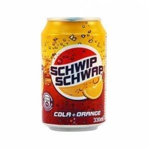 Schwip Schwap Cola & Orange Soda 330ml