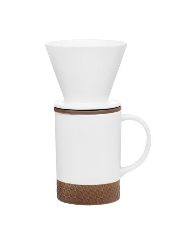 Solo Ceramic Coffee cup +filter set