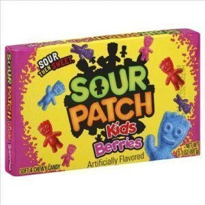 Sour Patch Kids Berries Theatre Box 88gram