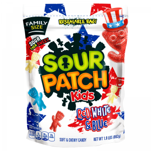 Sour Patch Kids Red White & Blue 862g
