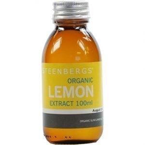 Steenbergs Organic Lemon Extract 100ML