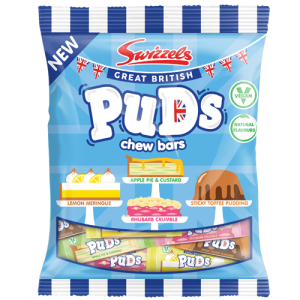 Swizzels Matlow Puds Chew Bars 150g