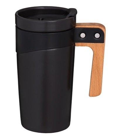Take Away-mugg med handtag 50 cl - Svart