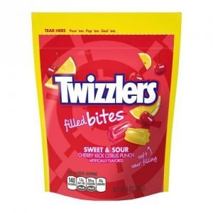 Twizzlers Soft Filled Bites Sweet & Sour 226g