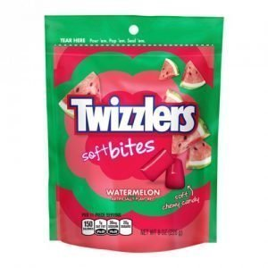 Twizzlers Soft Filled Bites Watermelon 226g