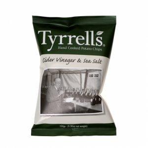 Tyrrells Cider Vinegar & Sea Salt 150g