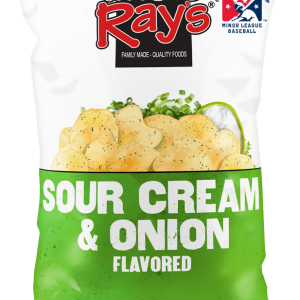 Uncle Rays Potato Chips - Sour Cream & Onion 120g