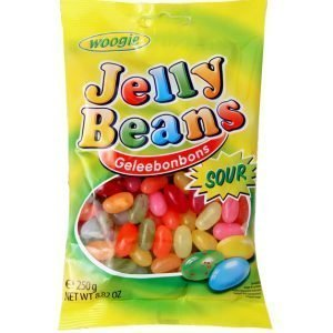 Woogie Jelly Beans Sour 250g