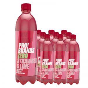 Blandsaft Zero Jordgubb & Lime 10-pack - 48% rabatt