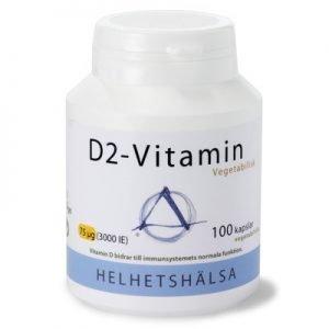 D2-vitamin 3000IE 75 μg 100kveg
