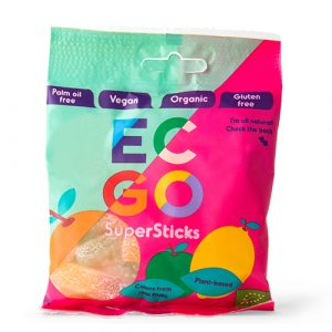 EC:GO Vingummi Super Sticks Ø - 75 G