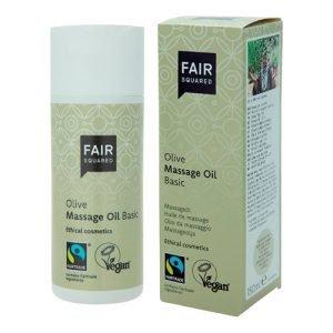 Fair Squared Oliven Massageolie - 150 ml