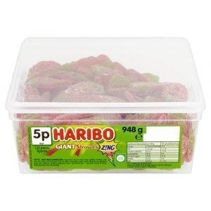 Haribo Giant Strawbs Z!ng 948g