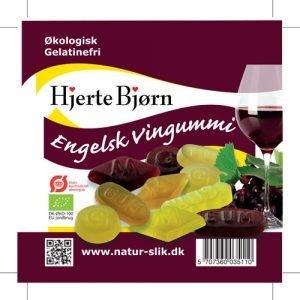 Hjerte Bjørn Engelsk Vingummi - 100 G