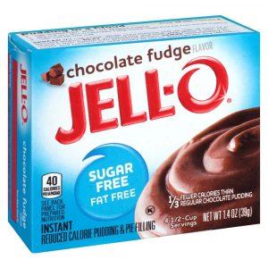 Jello Sugar Free Pudding Mix - Chocolate Fudge