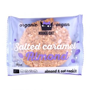 Kookie Cat Salted Karamel Ø Mandel - 50 G