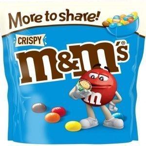 M&Ms Crispy 246g
