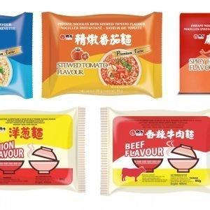 Wei Lih Instant Noodles Mixpaket