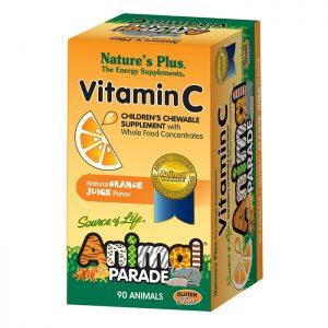 Animal Parade C-Vitamin 90 tabletter