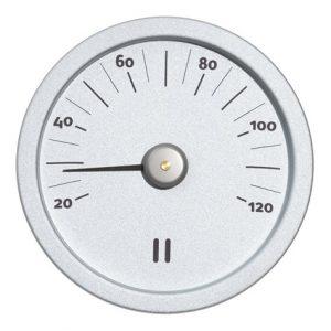 Bastutermometer aluminium naturell