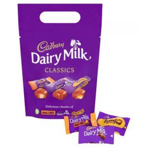 Cadbury Dairy Milk Mixed Chunk Pouch 350g