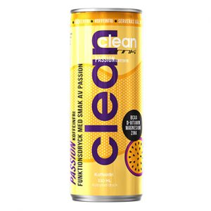 Clean Drink Passion Koffeinfri 33cl