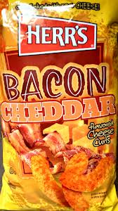 Herrs Bacon Cheddar Cheese Curls 198gram