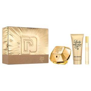 Lady Million Parfymset i 3delar -Paco Rabanne